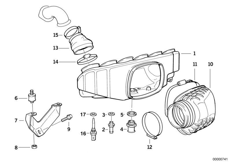 E36 Intake Manifold Diagram