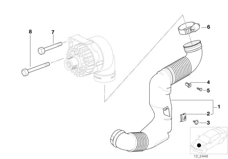 Engine Electrical System parts Z3 2.8 Roadster Z3