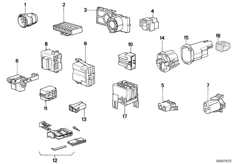 Vehicle electrical system parts 324tdA Touring E30