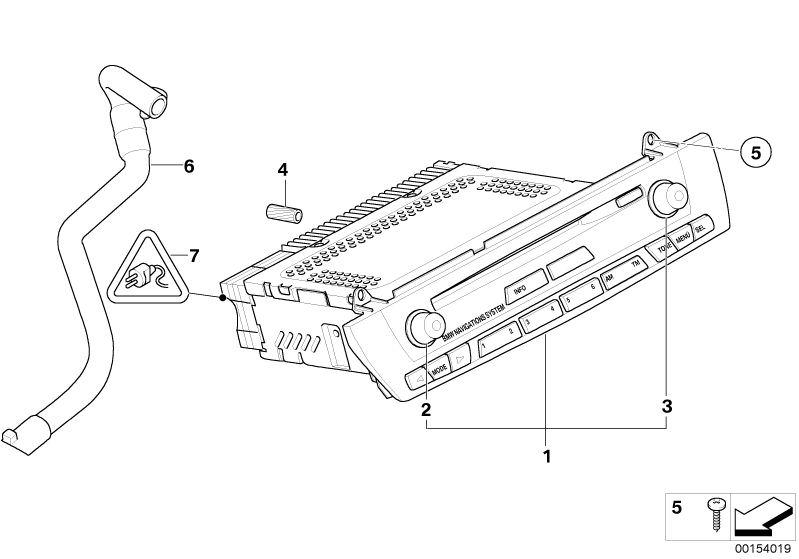 Audio, Navigation, Electronic Systems parts Z4 2.5i