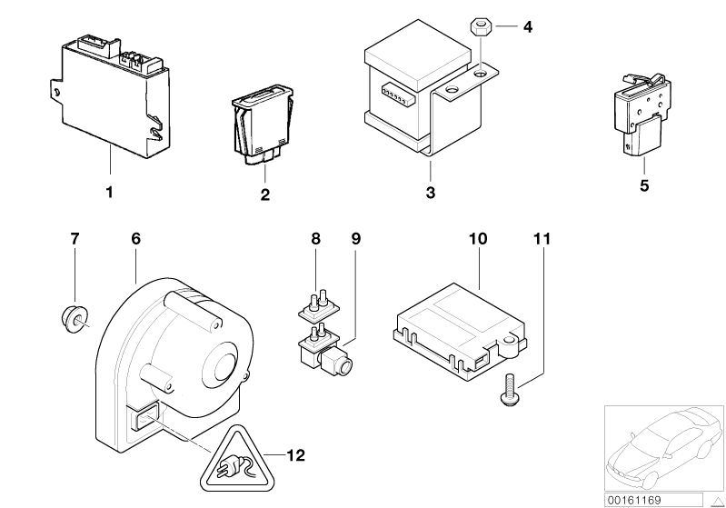 Audio, Navigation, Electronic Systems parts Z3 3.0i
