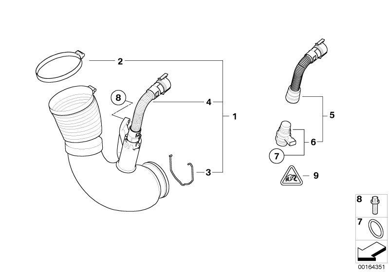 Fuel Preparation System parts X3 2.0d E83 Facelift (LCI