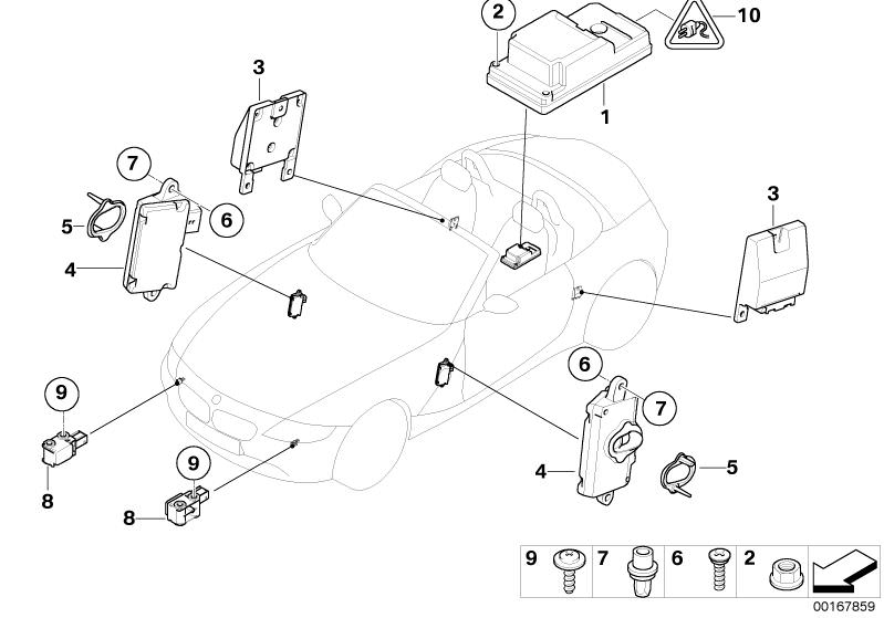 Audio, Navigation, Electronic Systems parts Z4 2.5i