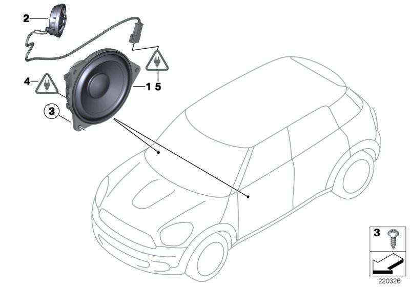 Ersatzteile Audio, Navigation, Elektroniksysteme Cooper