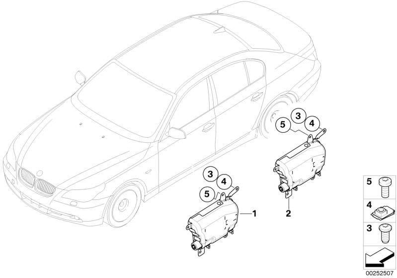 Ersatzteile Zubehör und Rückhaltesysteme 645Ci Coupé E63
