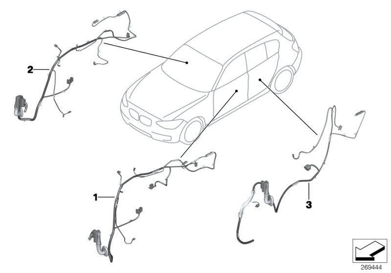Vehicle electrical system parts 116d ed 5 doors F20