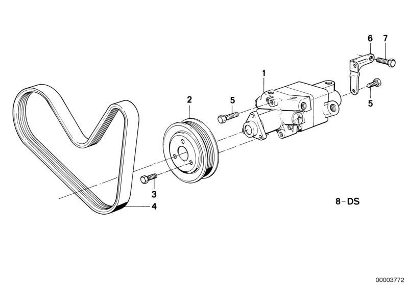 Original BMW GASKET SET TANDEM VANE PUMP Z3 Roadster Z3 ZF