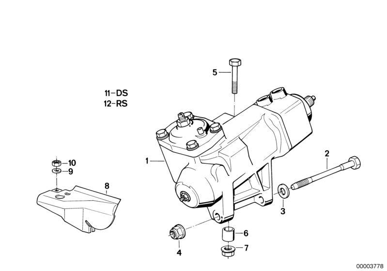 Original BMW Exchange hydro steering gear Z3 Roadster Z3