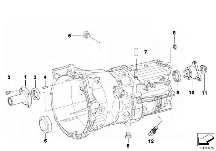 Original BMW Screw plug with gasket ring i3 I01 M18X1,5