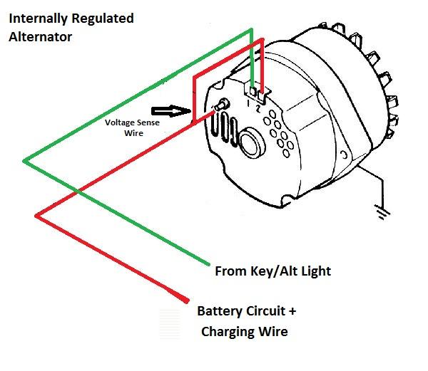 Mercruiser Alternator Conversion Wiring Diagram - Somurich.com