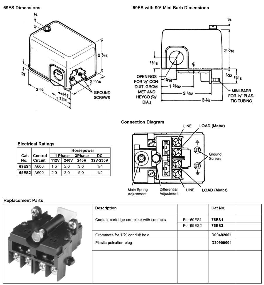 HubbellDirect.com: Products: Pressure Switches