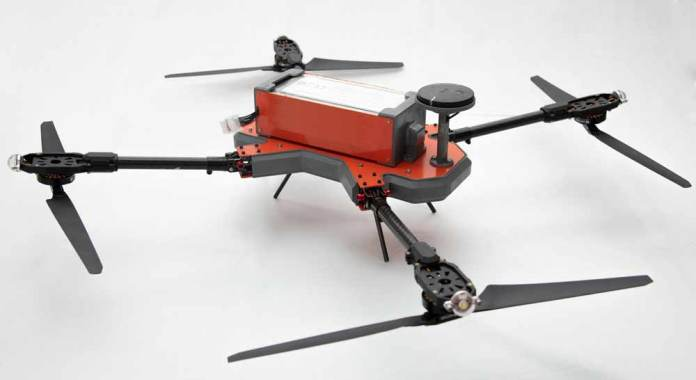 Staredge NPNT compliant drone