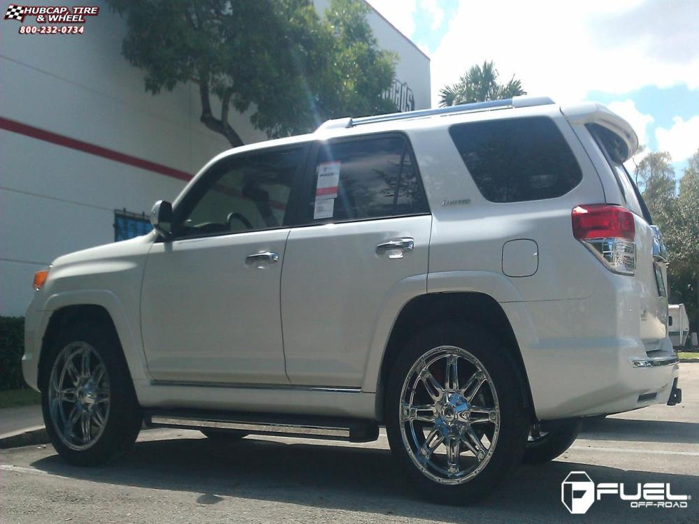 medium resolution of toyota 4 runner fuel hostage d530 0x0 chrome wheels and rims