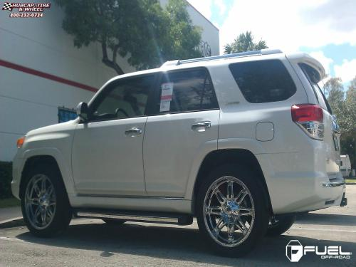 small resolution of toyota 4 runner fuel hostage d530 0x0 chrome wheels and rims