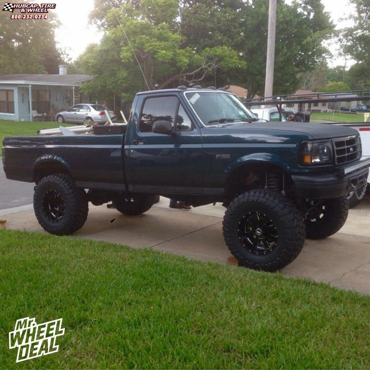 hight resolution of 1995 ford f 150 moto metal mo962 18x10 gloss black milled wheels and rims