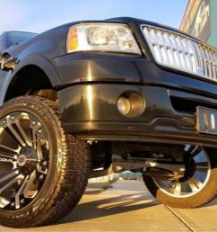lincoln mark lt xd series xd778 monster x matte black wheels and rims [ 1422 x 800 Pixel ]