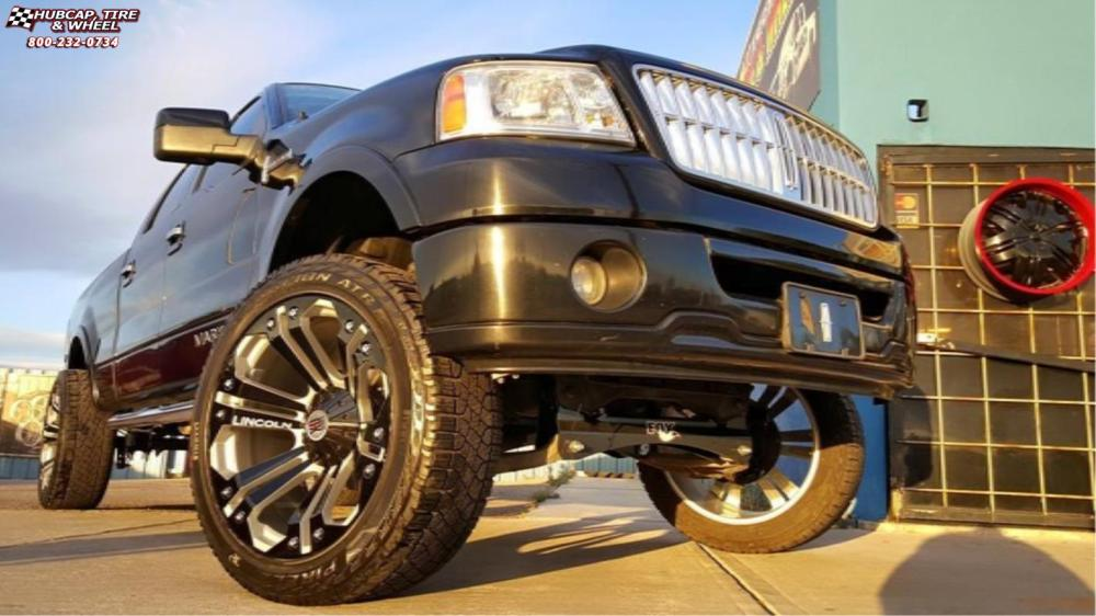 medium resolution of lincoln mark lt xd series xd778 monster x matte black wheels and rims
