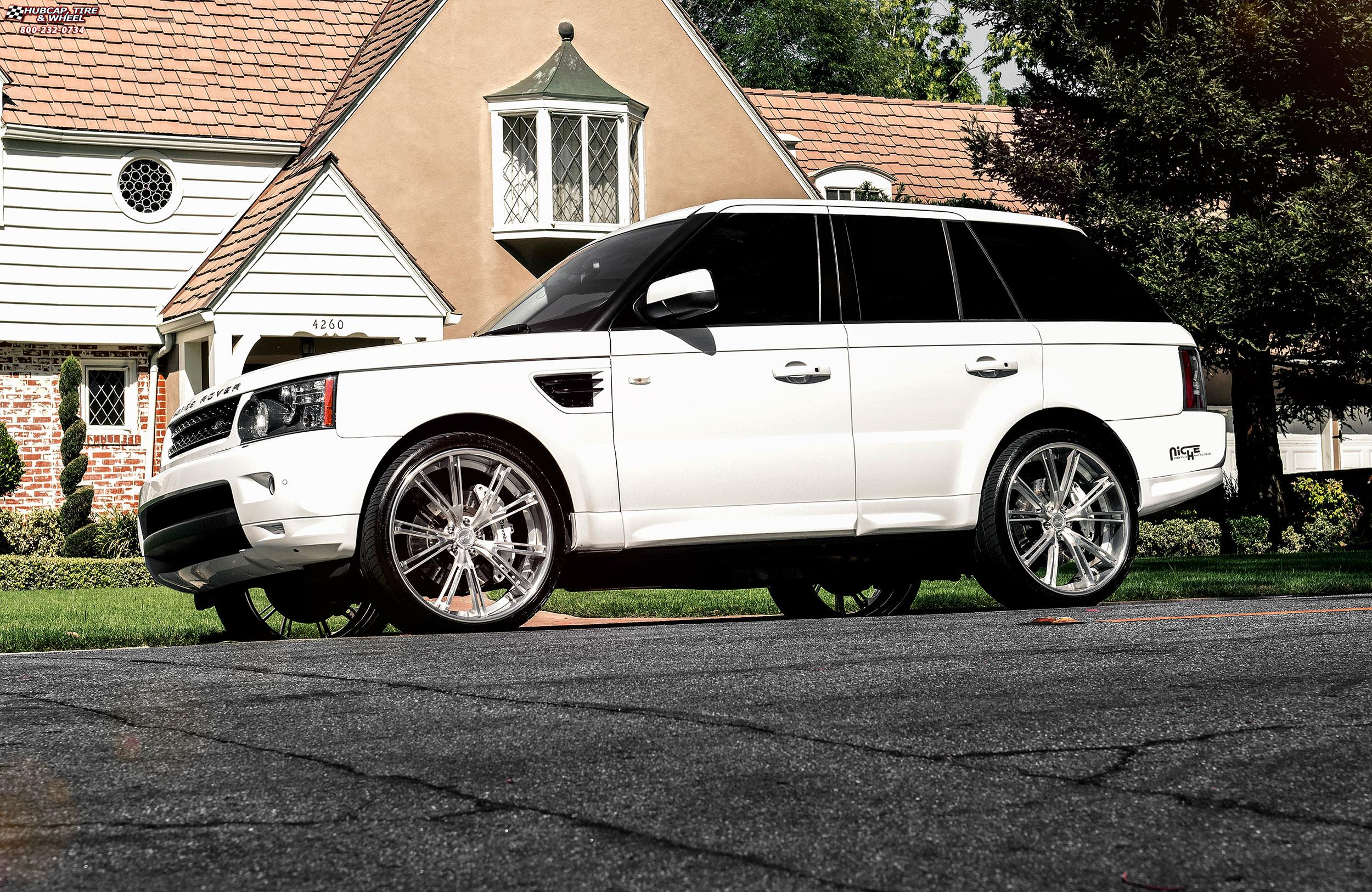 Land Rover Range Rover Sport Niche Ritz Wheels Brushed Chrome Lip