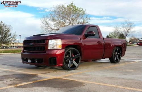 small resolution of 2014 chevrolet silverado 1500 xd series km690 mc 5 satin black milled wheels and rims