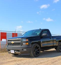2014 chevrolet silverado 1500 xd series km651 slide gloss black wheels and rims [ 1200 x 800 Pixel ]