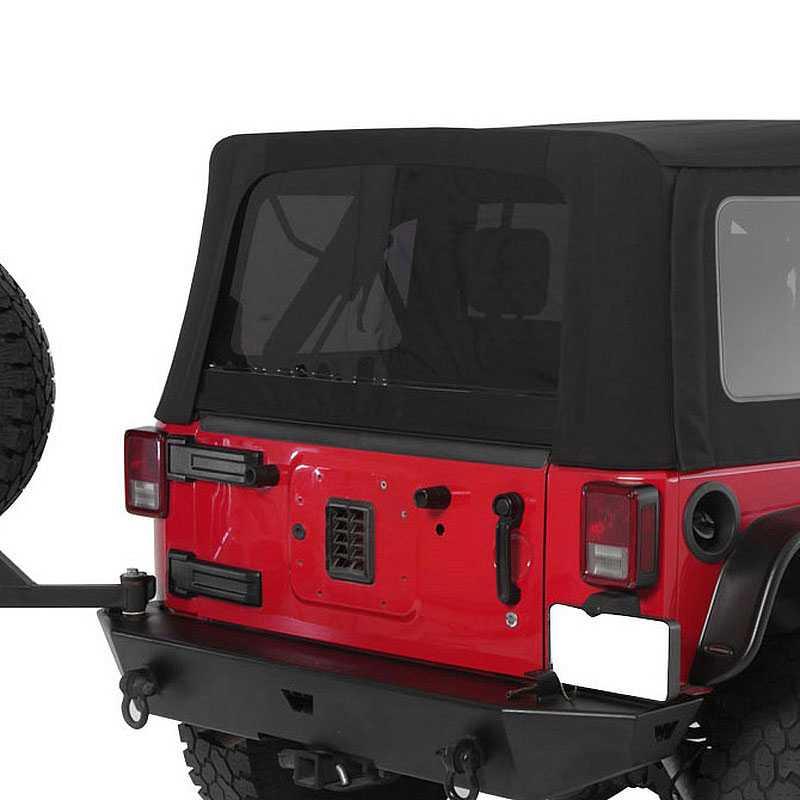 Jeep Wrangler Top Parts Diagram
