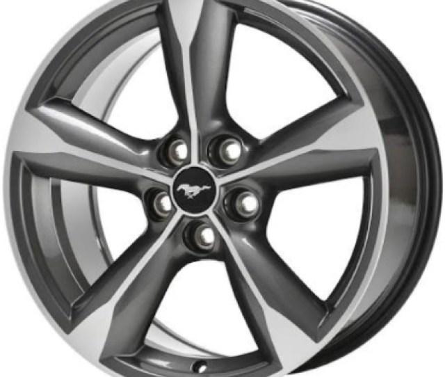 Alyu  Ford Mustang Wheel Machined Frcja