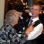 picture of Grandma, Brock, and Layne