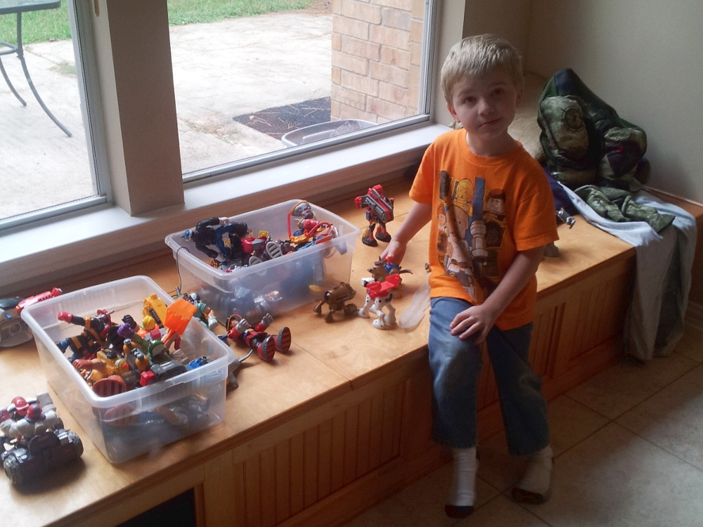 Brock and his haul