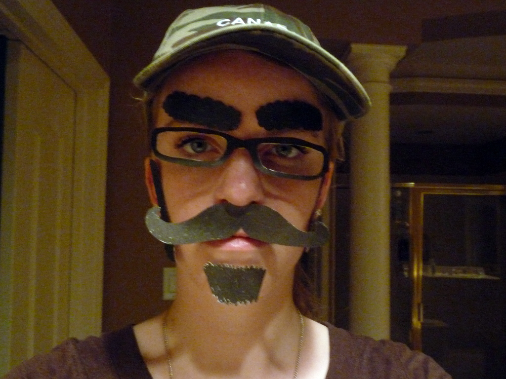 Picture of Daelynn Huber in disguise