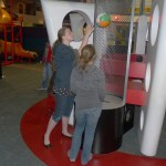 Picture of kids at Space Center Houston