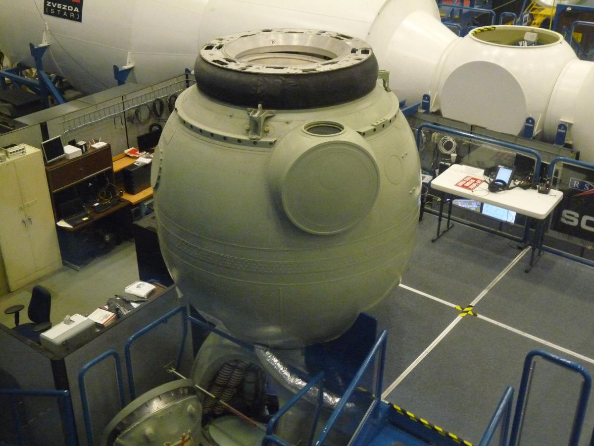 Picture of Soyuz training capsule