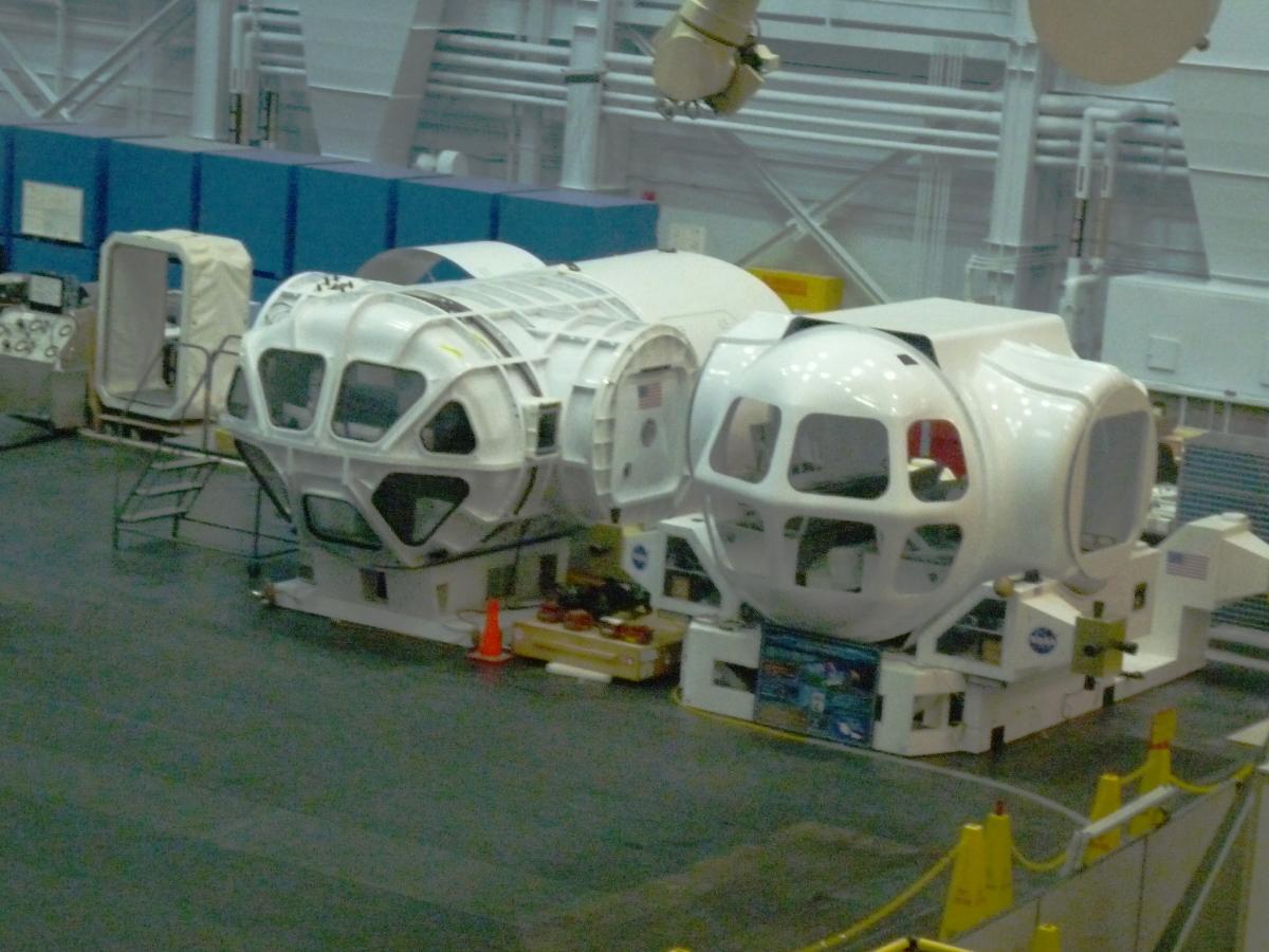 Picture of NASA space habitat