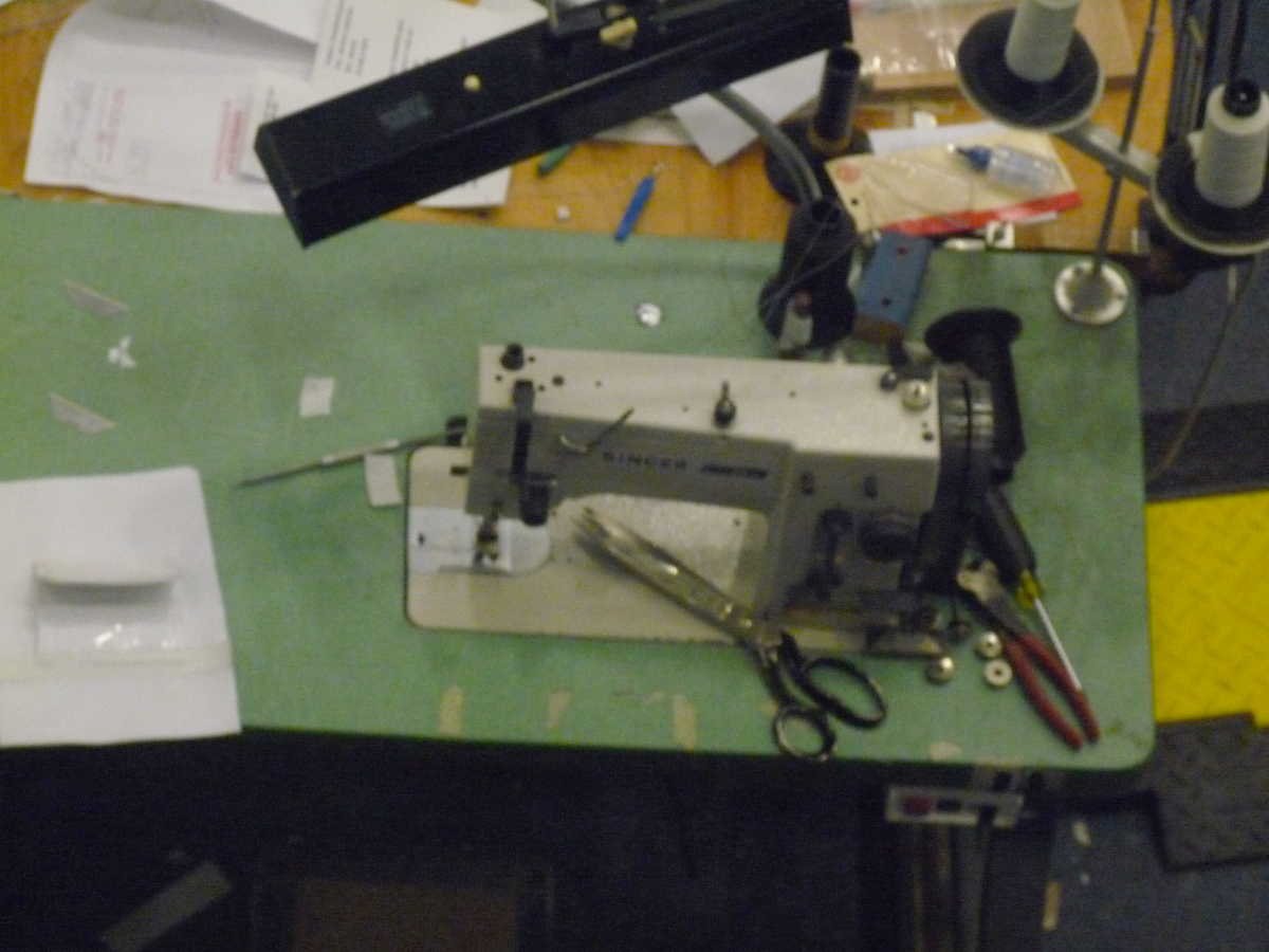Picture of sewing machine