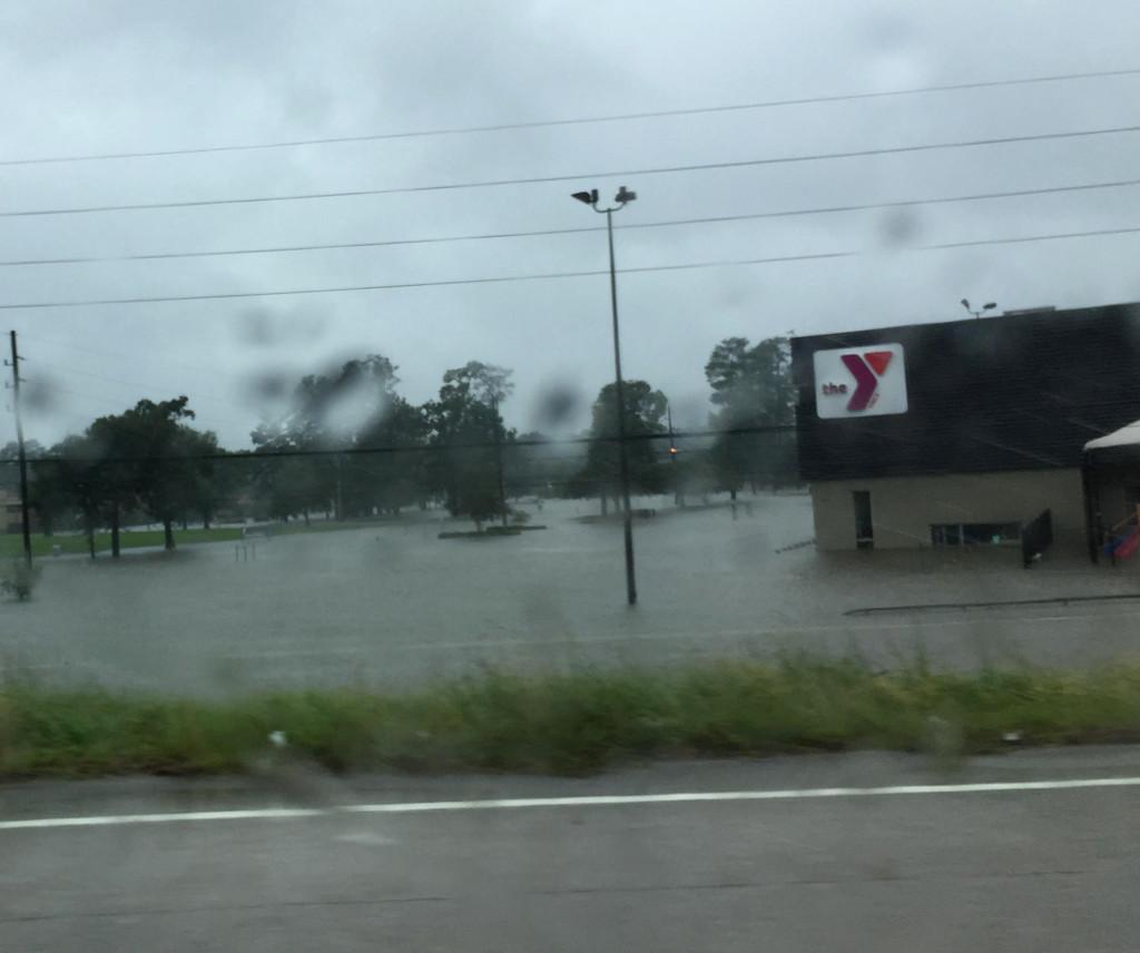 YWCA under water