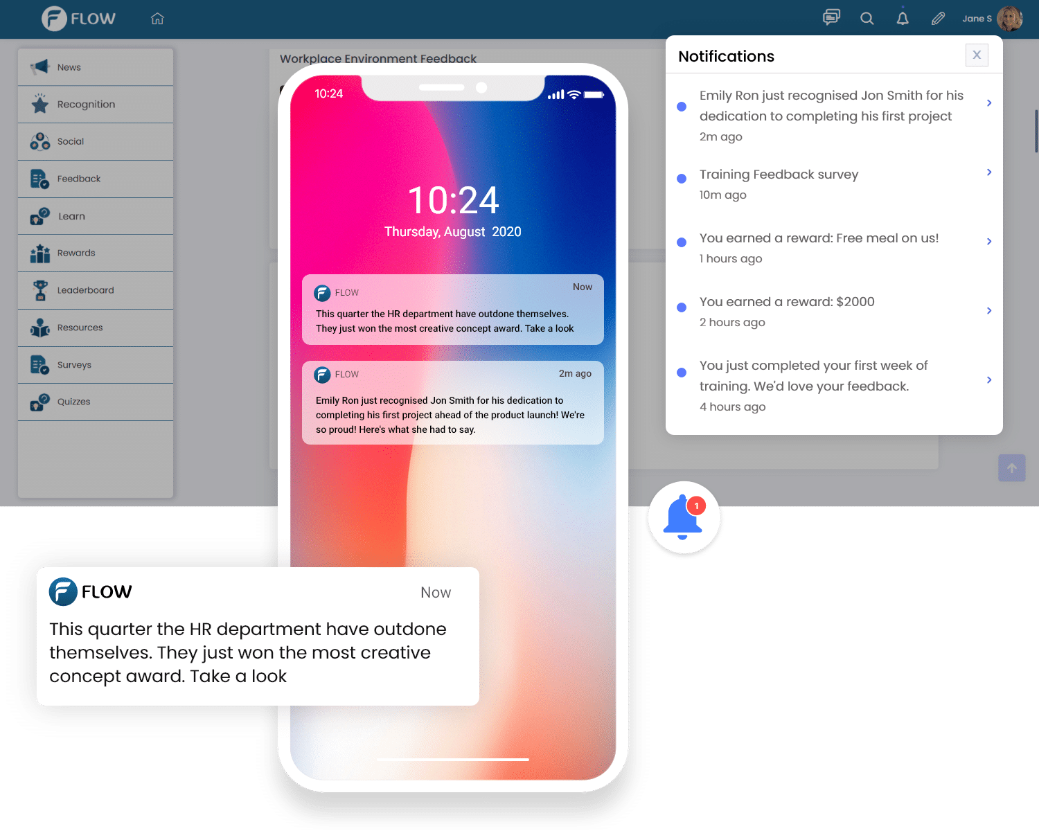 set up automated push notifications for specific segments