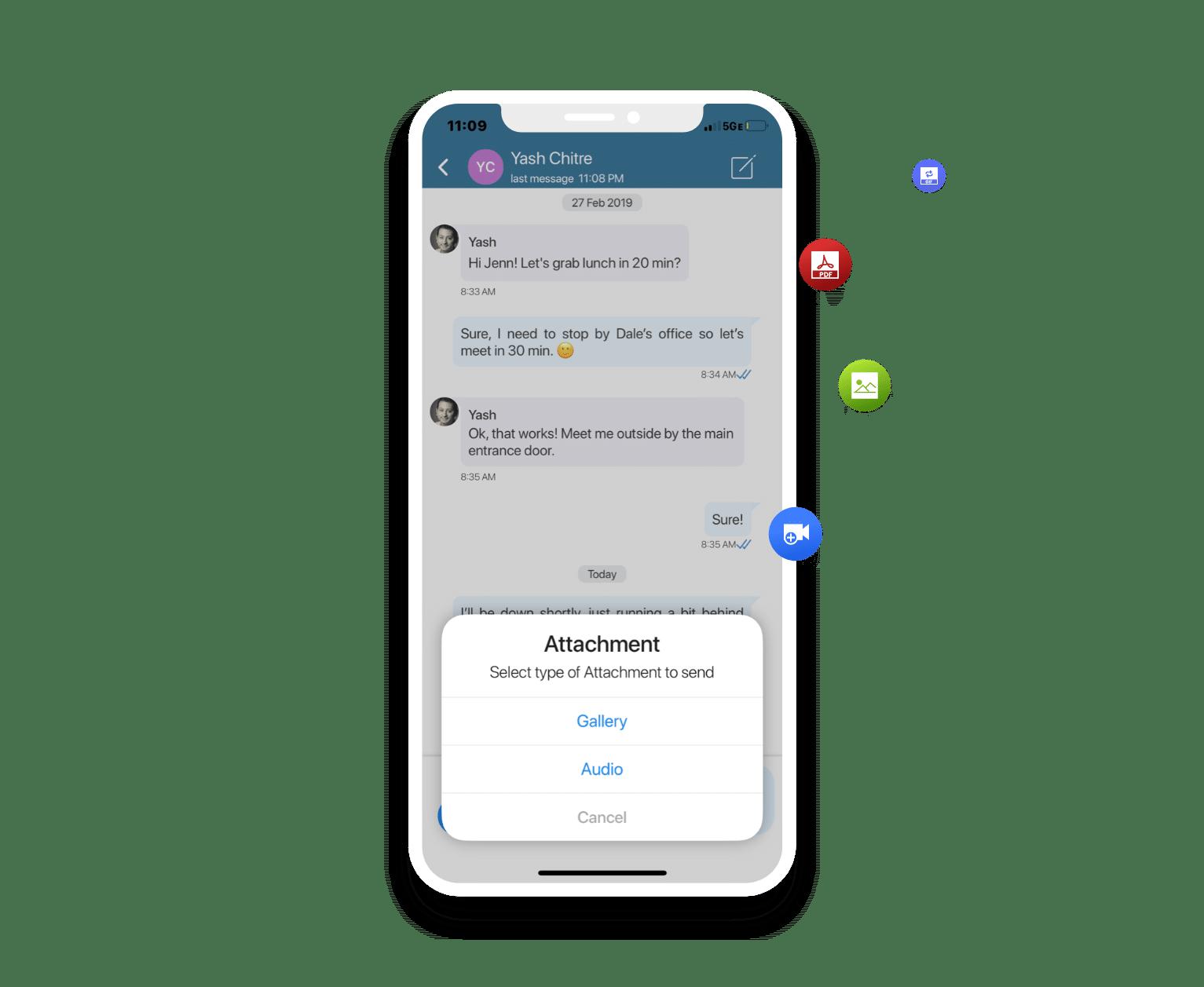 Full instant messaging capabilities