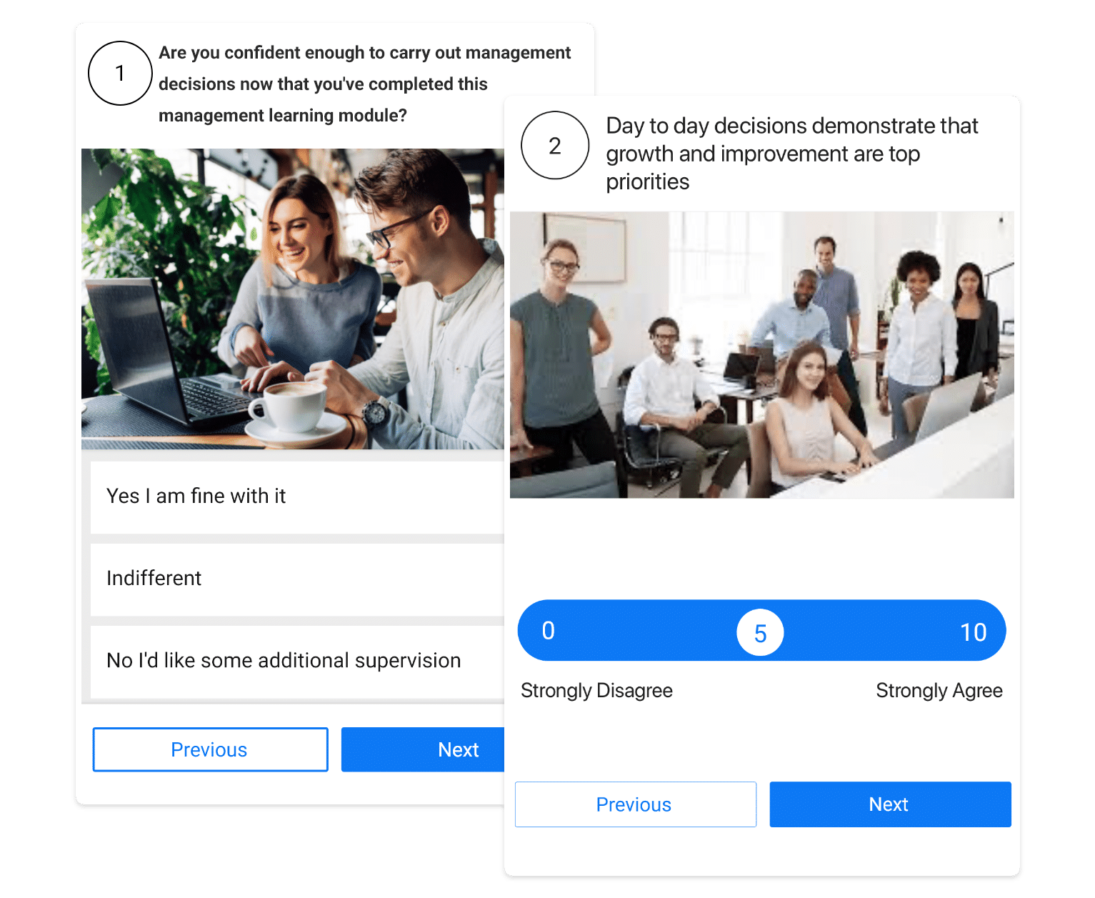 surveys - customizable surveys