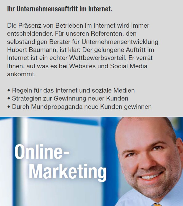 Hubert Baumann Online-Marketing