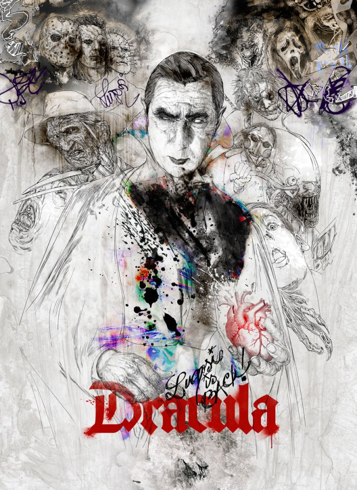 Dracula - Lugosi is back! - hubertfineart.com
