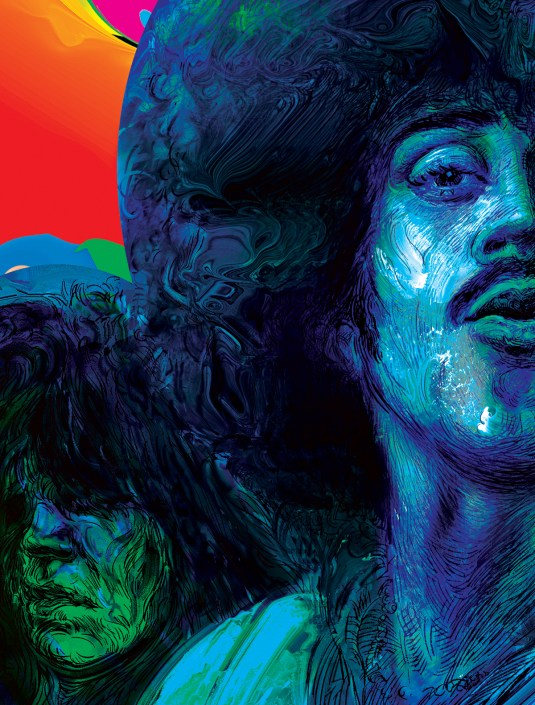 phil lynott art prints detail 1 from hubert fine art