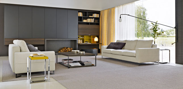 modern twine curved arm sofa macys leather and loveseat seating furniture hub lighting living home products