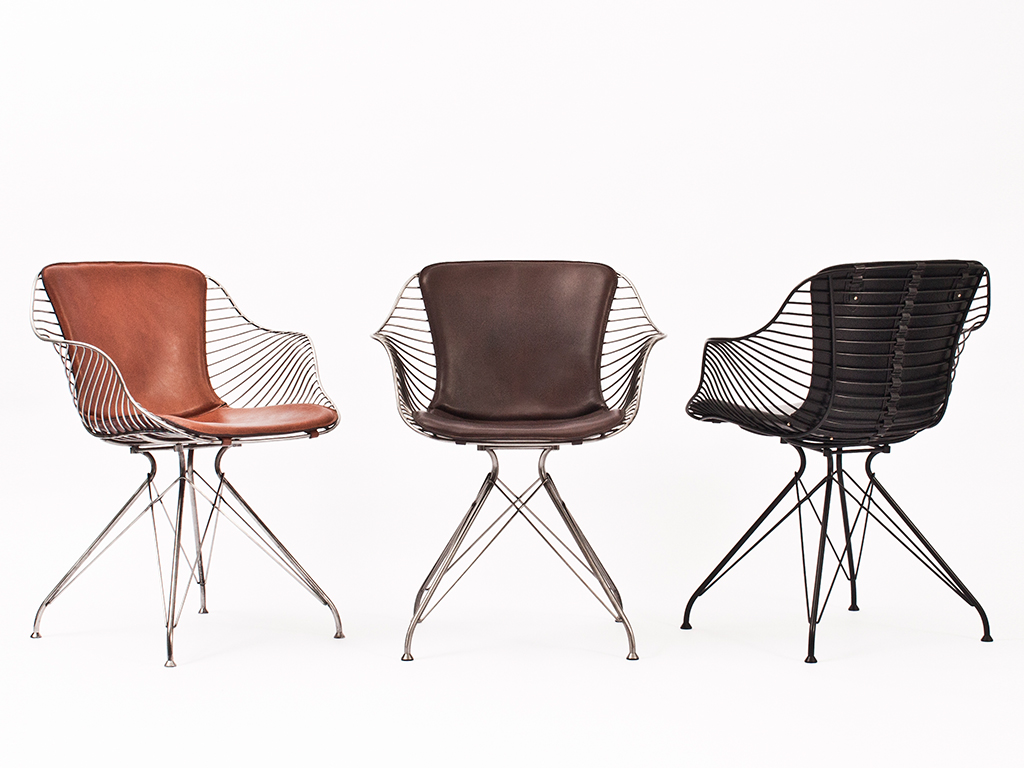 Wire Dining Chair By Overgaard  Dyrman  Hub Furniture