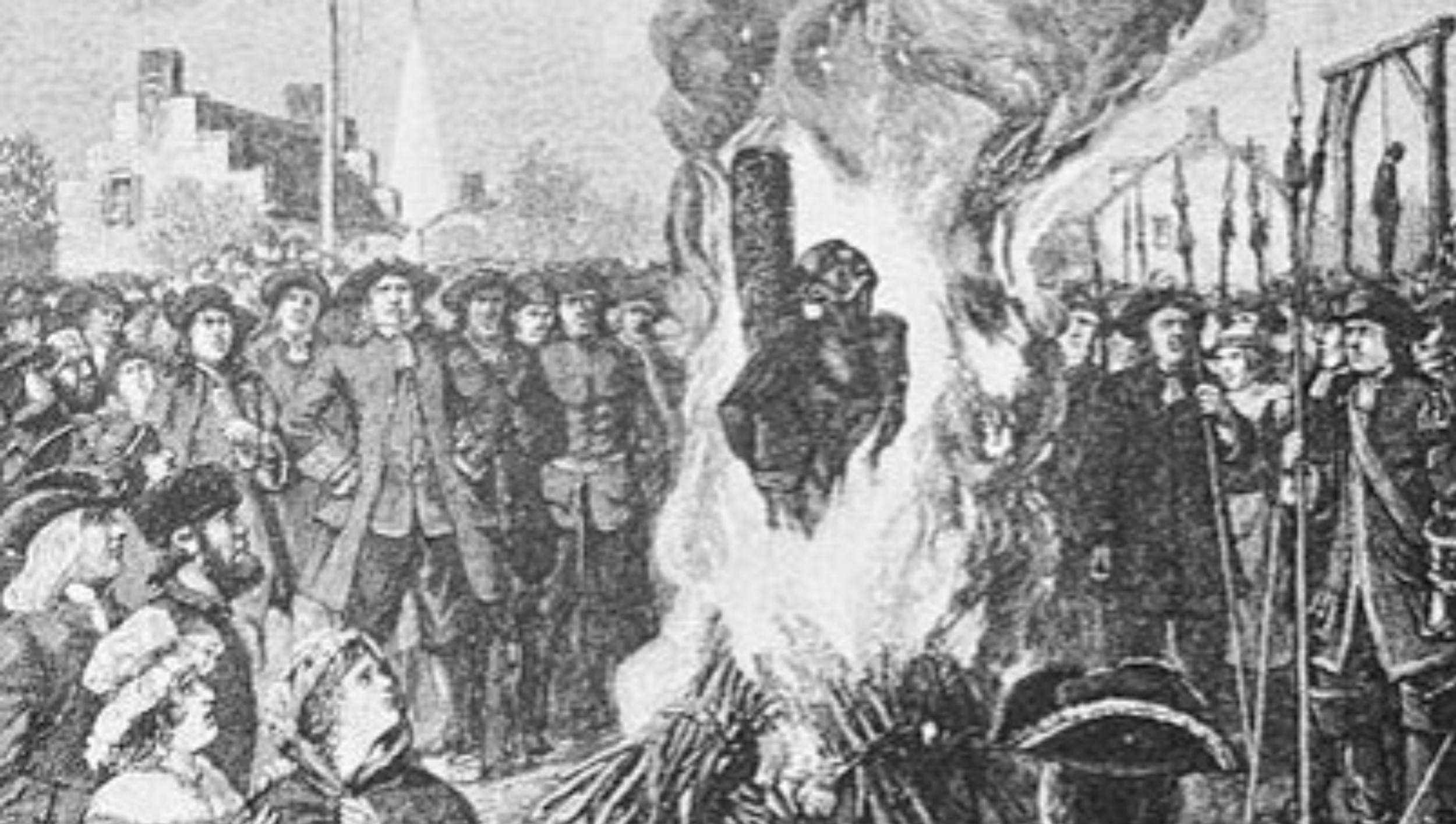Episode 27 Burned At The Stake Hub History Boston History Podcast