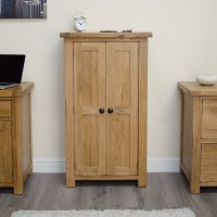 Original rustic shoe storage cabinet cupboard unit solid ...