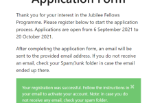 Photo of How to Activate Nigeria Jubilee Fellows Programme Account