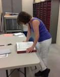 Having fun in Ferrisburgh Town's Clerk Office!