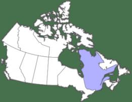 Au 17ième siècle, la famille Hubou-Tourville la Nouvelle-France.