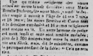 Bibliothèque et Archives Nationales du Québec, La Minerve, le jeudi 22 juillet 1847
