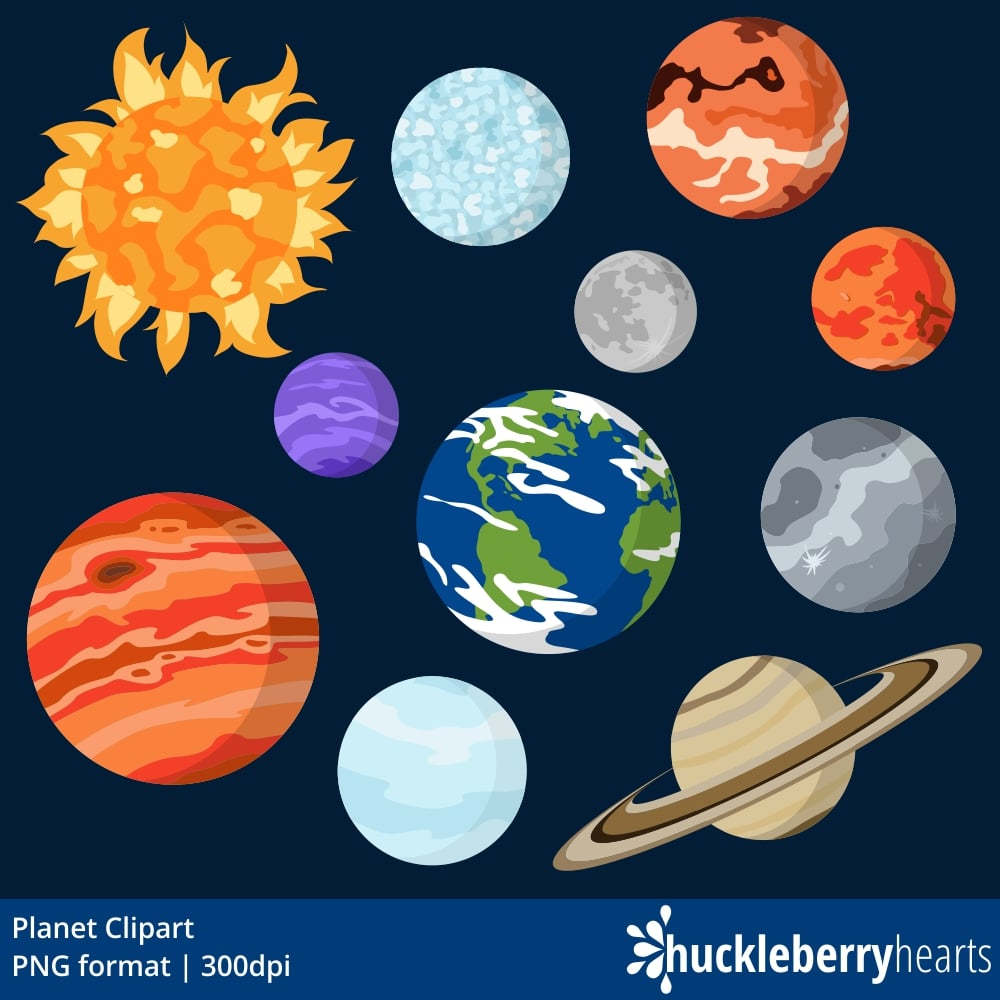 hight resolution of planet clipart