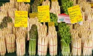 "The ""Asparagus Star"" mit Spargel"